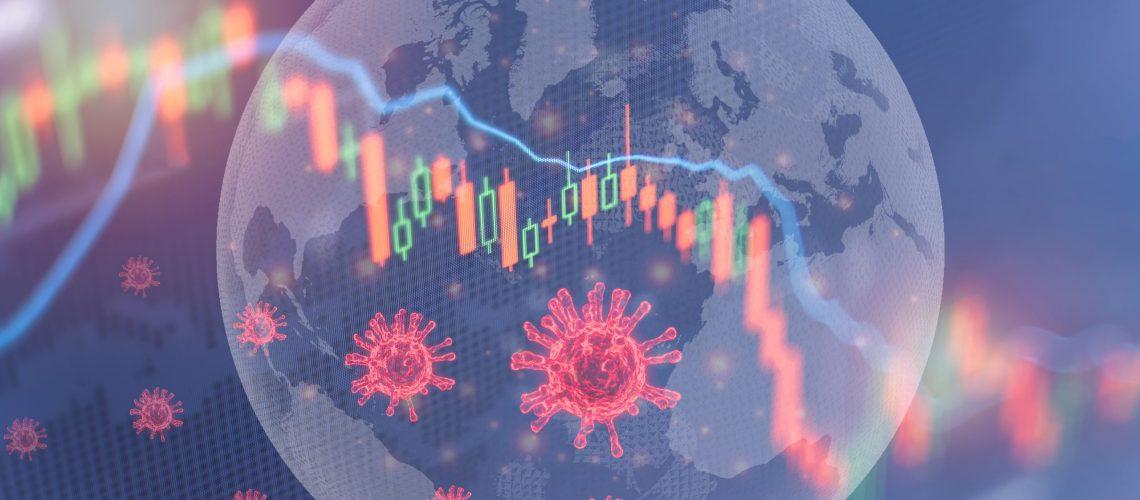 Coronavirus,Impact,Global,Economy,Stock,Markets,Financial,Crisis,Concept,the,Coronavirus